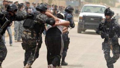صورة الإطاحة بأحد معاوني المقبور الزرقاوي في بغداد
