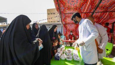 صورة الصحة تنشر مفارز طبية خدمة لزائري الإمام الحسن العسكري عليه السلام في سامراء