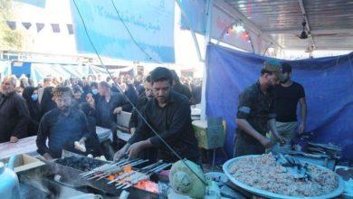 صورة أكثر من 500 موكب خدمي مستمر بتقديم خدماته في زيارة الإمام الحسن العسكري عليه السلام