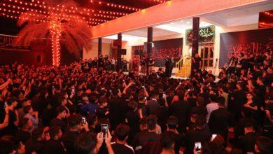 صورة أهالي ناحية (جديدة الشط) بمحافظة ديالى يحيون ذكرى شهادة الإمام العسكري عليه السلام
