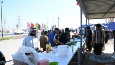 صورة 2982 موكباً خدميّاً من محافظة واسط اشتركت في تقديم الخدمات لزائري الأربعين