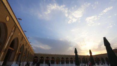 صورة مشاهد من مصلى الأنبياء عليهم السلام في مسجد الكوفة المعظم أقدم المساجد على وجه الأرض
