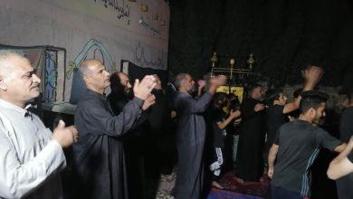 """صورة أهالي منطقة """"الحمزة الغربي"""" يحيون ذكرى إمامهم العسكريّ بقلوب صادقة أنكرت ملذّات الحياة"""