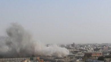 صورة استشهاد مواطن يمني وإصابة 2 آخرين بقصف سعودي على صعدة