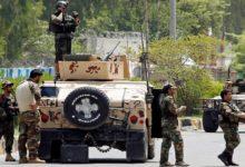 صورة قتلى وجرحى بهجوم استهدف قاعدة للشرطة في أفغانستان