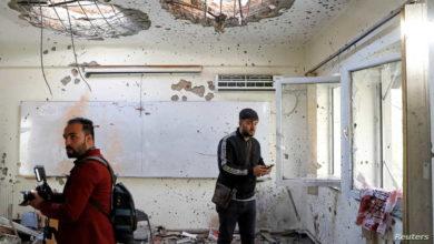 صورة اعتقال الارهابي المخطط لهجوم جامعة كابل في أفغانستان