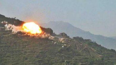 صورة التحالف السعودي يقصف بالمدافع والصواريخ قرى في صعدة