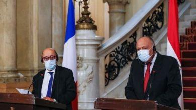 صورة لإصلاح ما أفسده ماكرون .. وزير خارجية فرنسا يؤكد من مصر الاحترام العميق للإسلام