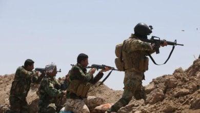 صورة إحباط هجوم لداعش الإرهابي على نقطة للشرطة في ديالى