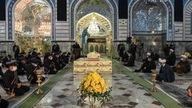 صورة المؤمنون يحيون ذكرى شهادة السيدة فاطمة المعصومة عليها السلام