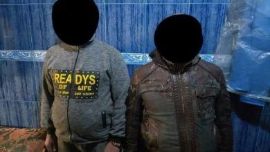 صورة القبض على ارهابيين اثنين جنوب الموصل