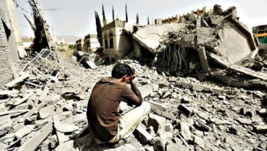 صورة طائرات التحالف السعودي تقصف منشآت زراعية ومدنية في اليمن