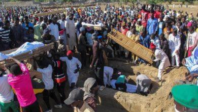 صورة بوكو حرام الإرهابية تتبنى ذبح 76 مزارعاً في نيجيريا