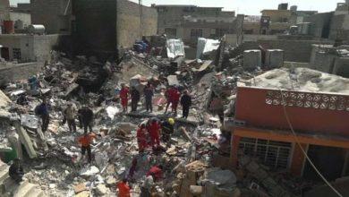 صورة إصابة 9 يمنيين بقصف سعودي في صعدة
