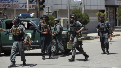 صورة مقتل 13 من رجال الشرطة في هجوم لطالبان الإرهابية بشمال أفغانستان