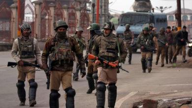 صورة المسلم الحر تدين الاعتقالات الهندية للمعارضين المسلمين في كشمير