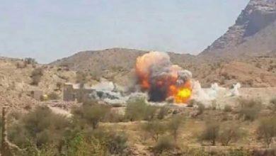 صورة طيران العدوان السعودي يجدد استهداف المناطق السكنية في اليمن