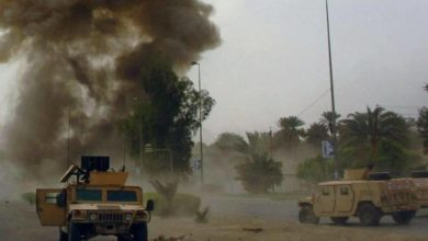 صورة د11عش الإر.ها.بي يتبنى قتل وجرح 4 من قوات الأمن المصري في سيناء