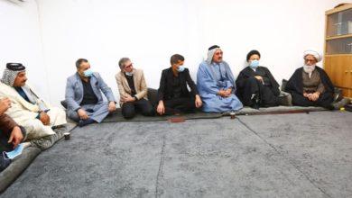 صورة المرجع النجفي: العراق مركز تشيع أهل البيت عليهم السلام ودولتهم