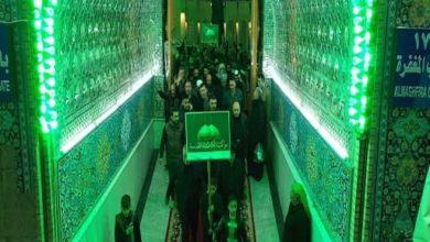 صورة مواكب الكاظمية المقدسة تحيي ذكرى وفاة السيدة أُمّ البنين عليها السلام