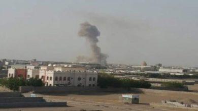 صورة اليمن.. طيران التحالف السعودي يشن غارات على مأرب وصعدة