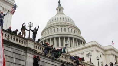 صورة بعد الهجوم على الكونغرس.. دعوات للمسلمين في امريكا لزيادة اليقظة في هذه الايام