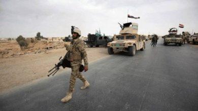 صورة قوة عسكرية تلقي القبض على 3 إر.ها.بيين في سامراء