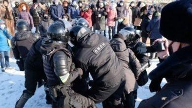 صورة اللاعنف العالمية تدعو السلطات الروسية لوقف القمع