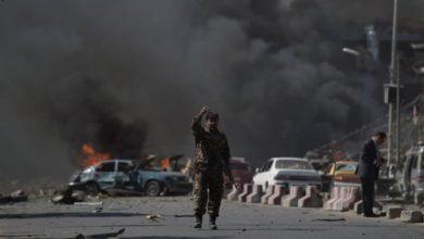 صورة كابل: انفجار يستهدف سيارة تابعة للسفارة الإيطالية في أفغانستان