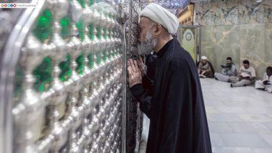 صورة بالصور.. قلوب خاشعة ودموع صادقة عند حرم الإمام الحسين عليه السلام