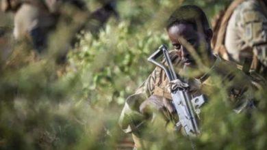 صورة مواجهات عنيفة وسط الصومال بين القوات الحكومية وحركة الشباب الإ.ر.ها.بية
