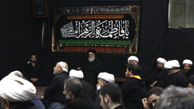 صورة بيت المرجع الشيرازي يحيي ذكرى شهادة الصديقة المظلومة (عليها السلام)