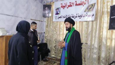 صورة وعود نيابية بطرح مشروع ميثاق حماية أيتام العراق تحت قبة البرلمان