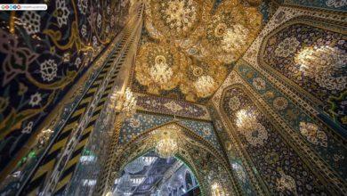 صورة بالصور.. فنون العمارة والزخارف الإسلامية تترجم في أبواب مرقد الإمام الحسين عليه السلام
