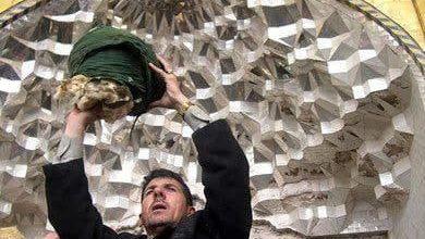 صورة صورٌ وثّقت مأساة فاجعة تفجير قبة الإمامين العسكريين (عليهما السلام)