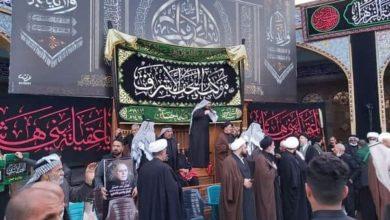 صورة وسط استنفار خدمي.. الجموع المؤمنة تحيي ذكرى استشهاد السيدة زينب عليها السلام عند مرقدها في سوريا (صور)