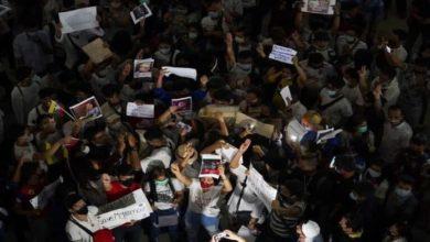 صورة دعوات أممية لعدم استخدام القوة المفرطة ضد المتظاهرين في ميانمار