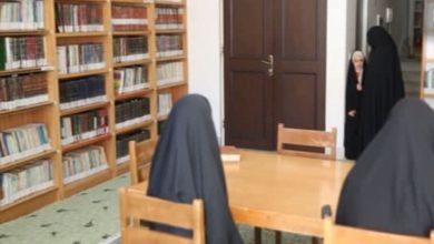 صورة افتتاح مكتبة للنساء متخصصة بالعلوم القرآنية تضم أكثر من عشرة آلاف كتاب في إيران