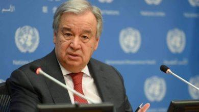 صورة غوتيريش: وباء كورونا تسبّب بأزمة في حقوق الإنسان