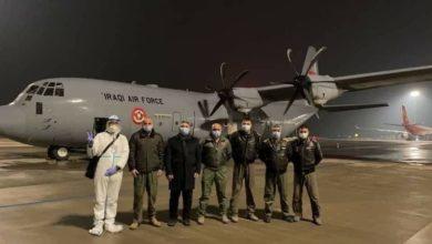 صورة بالصور.. شحن طائرة العراق بأولى دفعات لقاح كورونا في الصين