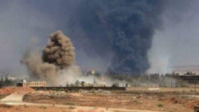 صورة شهداء وجرحى بانفجار لغم من مخلفات الإرهـ.ـأب بريف حلب