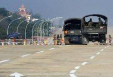 صورة اللاعنف تدين الانقلاب العسكري في ميانمار