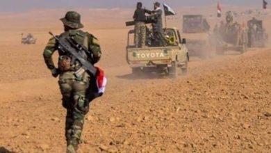 صورة استشهاد خمسة مقاتلين عراقيين شرق ديالى