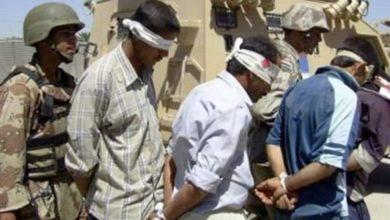 صورة القبض على خمسة إرهـ،ـابيين في محافظتي بغداد وصلاح الدين