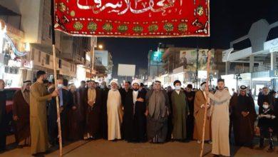 صورة النجف: مسيرة سلمية تؤكد على حرمة المدن المقدسة وتحذّر من انتهاكها