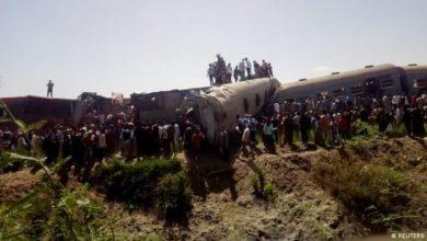 صورة وزارة الصحة تعلن حصيلة ضحايا تصادم قطارين في صعيد مصر