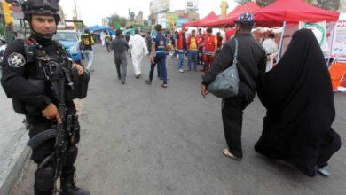 صورة يومان متبقيان.. استنفار أمني في شوارع بغداد لتأمين زيارة الإمام الكاظم (عليه السلام)