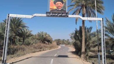 """صورة تسمية شارع ثانٍ باسم الخطيب الحسيني """"الطويرجاوي"""" في محافظة كربلاء المقدسة"""
