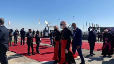 صورة بالصور.. استعدادات مدينة أور لاستقبال البابا ووصول وفد الفاتيكان