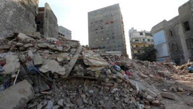 صورة مصرع 7 أشخاص وإصابة 25 آخرين في انهيار مبنى شرق القاهرة واستمرار البحث عن ضحايا